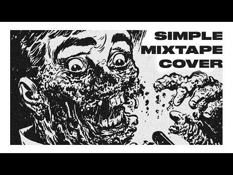 Mixtape Cover Art Design - Photoshop CC 2018 Tutorial