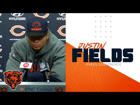Justin Fields on rivalry games | Chicago Bears