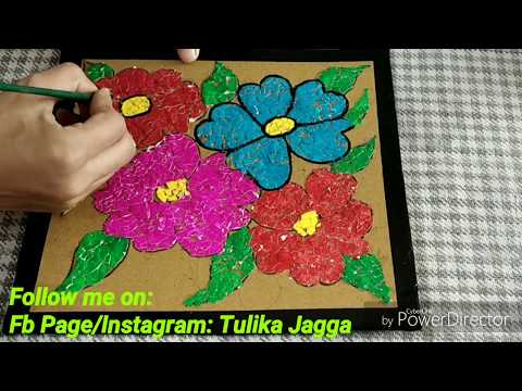 Diy Waste Material Craft Best Out Beautiful From Tulikajagga