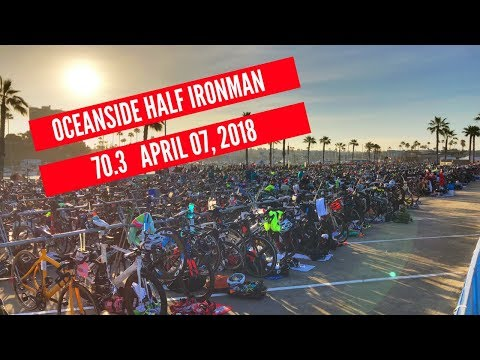 Oceanside Ironman 70.3 Triathlon 2018 with Male Results