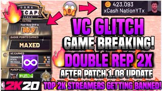 *NEW!!!* GAME BREAKING GLITCH ON NBA 2K20! (XBOX/PS4) *UNLIMITED VC/BADGE* *NEVER GET RIPPED* + BANS / Видео