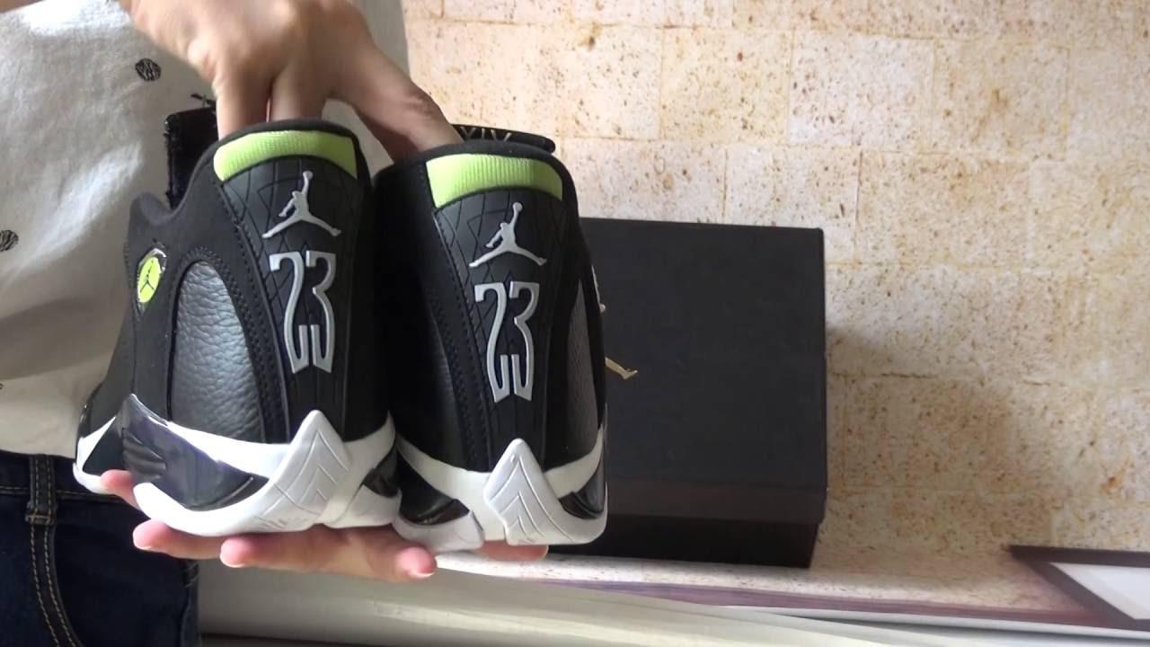 free shipping 359f4 3c245 Custom Authentic Nike Air Jordan 14