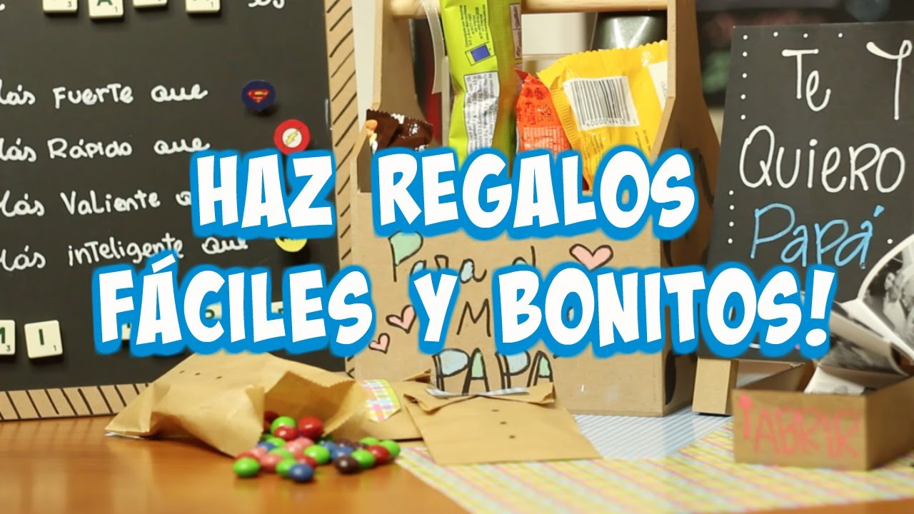 haz regalos econmicos bonitos y rpidos para tu pap what the chic youtube