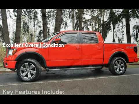 2012 Ford F-150 FX4 4X4 1OWNER V8 5.0L Automatic Supercrew for sale in Milwaukie, OR