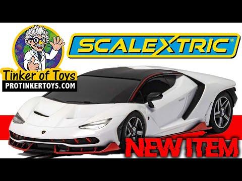 Lamborghini Centenario Bianco Monocerus   C4087   Scalextric