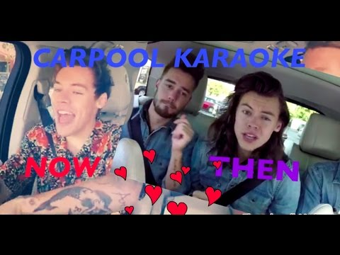 Harry Style Carpool Karaoke Then And Now! with James corden