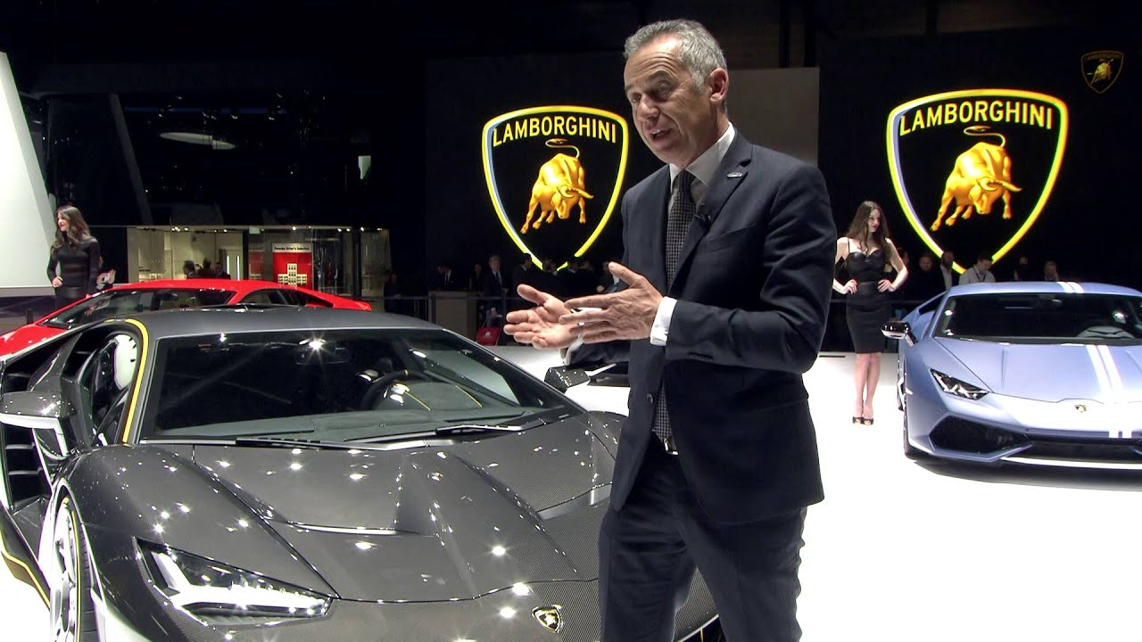Lamborghini Centenario: Maurizio Reggiani, R&D Director