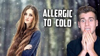 Meet The Girl Allergic To The Cold