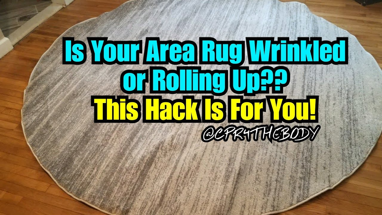 How To Get Your New Area Rugs To Lay Flat Frugal Hack Requested