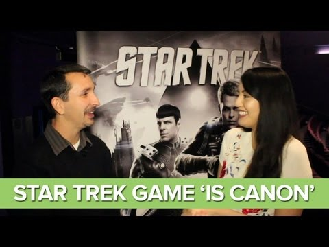 "Star Trek Game Is ""Official Canon"" - Gameplay Preview"