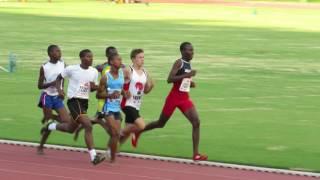 Sebastian Freeman - 800m (February 2015)