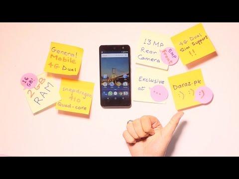 General mobile 4G dual smart phone: On daraz