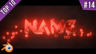 TOP 10 Blender Intro Template #24 + Free Download