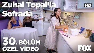 Damla Hanım mutfakta... Zuhal Topal'la Sofrada 30. Bölüm