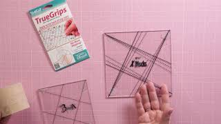 Non-Slip Adhesive Rings  Apply to the Back of any Ruler/'  By TRUEGRIPS The Grace Company