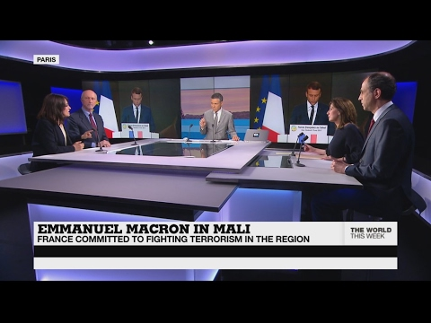 Emmanuel Macron in Mali: France committed to fighting terrorism in the region