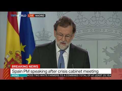 Spanish government dismisses Catalan Parliament