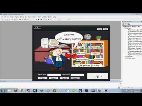 ms access designing a simple library database database