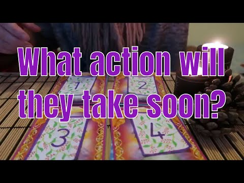 PICK A CARD ** What Action Will They Take Soon? ** (Timeless)