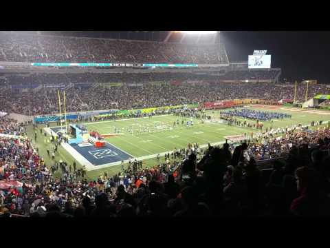 NFL ProBowl 2017 Player Introductions - Camping World Stadium