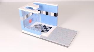Lego Modern Shower #1 Moc Stop-motion Speed Build