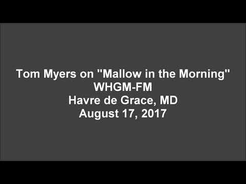 Tom Myers Mallow In The Morning Interview 2017