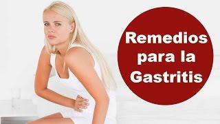 Remedios caseros para la gastroenteritis, gastritis o gripe estomacal