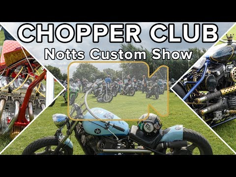 Chopper Club Notts Custom Show