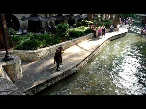 San Antonio Riverwalk Fight