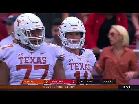 2018 - Game 1 - #23 Texas @ Maryland