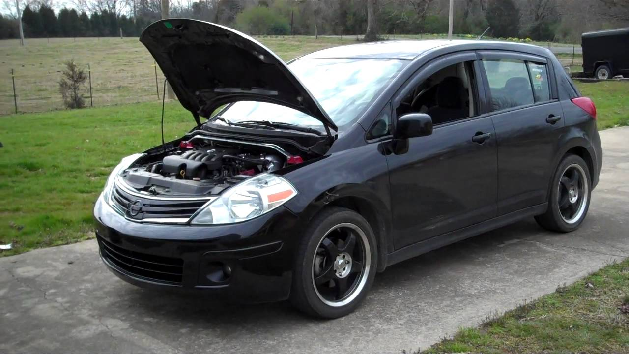 Nissan Versa hatchback modified - YouTube