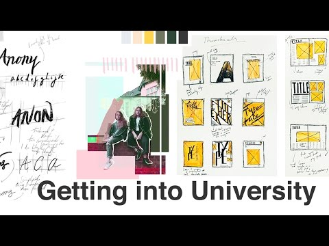 My University Portfolio \ How I got into CSM (GRAPHIC COMMUNICATION DESIGN)