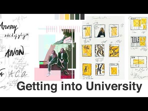 My University Portfolio \ How I Got Into CSM (GRAPHIC COMMUNICATION DESIGN)