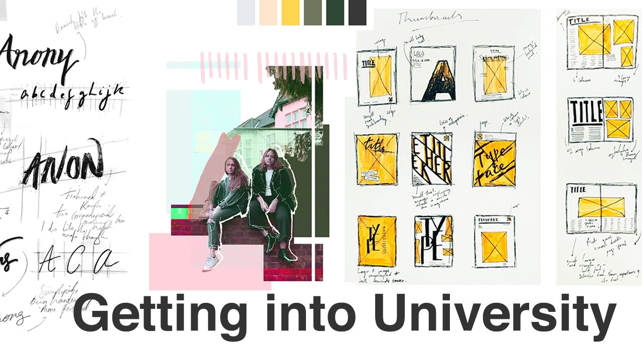My University Portfolio How I Got Into Csm Graphic