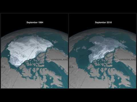 Disappearing Arctic sea ice