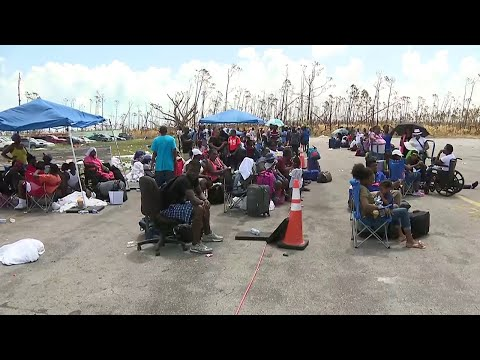 Bahamian government working to better process evacuees