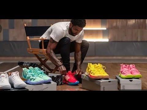 Kyrie Irving y Nike lanzan modelos de Bob Esponja YouTube