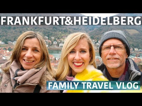 48 HOURS FRANKFURT & HEIDELBERG | Travel Vlog, Germany