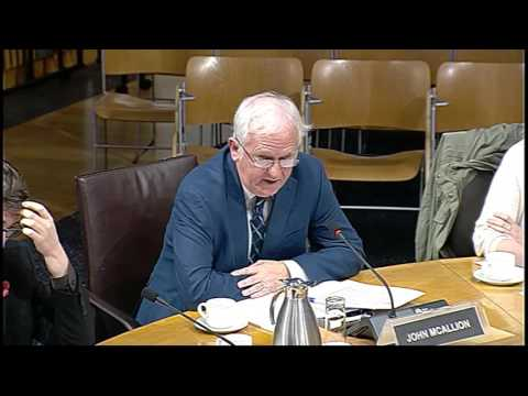 Welfare Reform Committee - Scottish Parliament: 10th November 2015