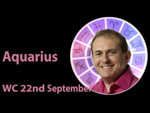 Aquarius Weekly Horoscope from 22nd September 2014