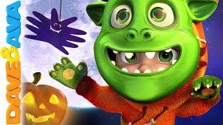 👻 Halloween | Nursery Rhymes & Halloween Songs | Dave and Ava 👻