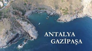 Antalya / Gazipaşa - Havadan Görüntüler (Koru-Deniz-Cebeli)