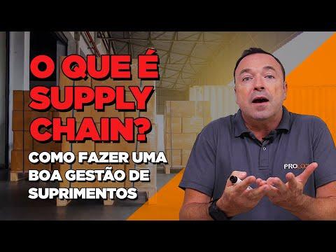 SUPPLY CHAIN - Tudo Sobre CADEIA DE SUPRIMENTOS!