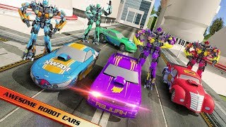 Flying Car Robo Battle Hero (By Punk Games Studio) Android Gameplay HD