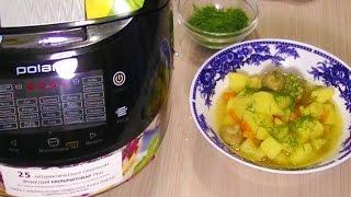 Домашние видео-рецепты - грибы с овощами в мультиварке