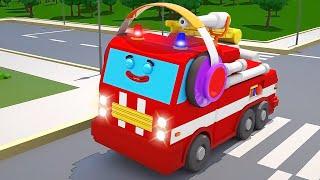 Little Fire Truck & Emergency Vehicles Cars & Trucks Cartoons