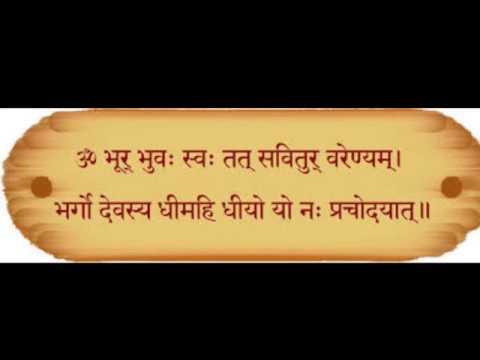 Jagjit Singh - Gayatri Mantra Chant With Rhythm