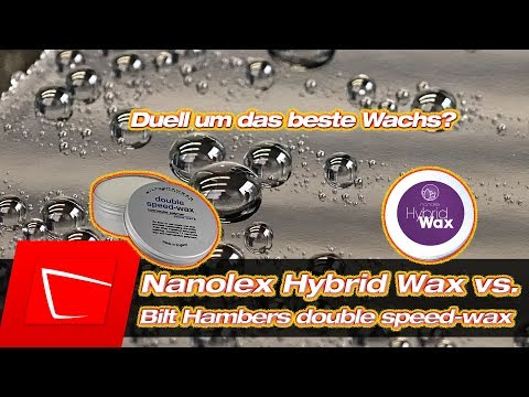 Bilt Hamber Double speed-wax vs. Nanolex Hybrid Wax Autowach