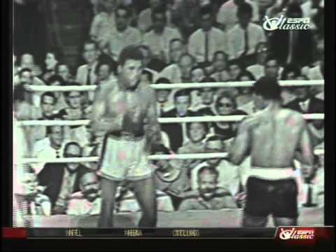 Cassius Clay aka Muhammad Ali v Alonzo Johnson 1961