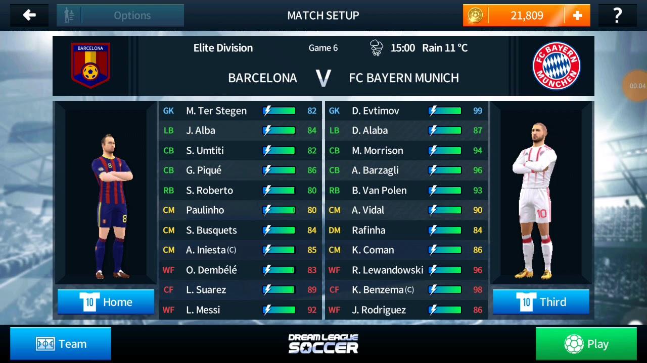 aa69dcf6d FC Barcelona vs. Bayern ( Dream League Soccer 18 ) - YouTube
